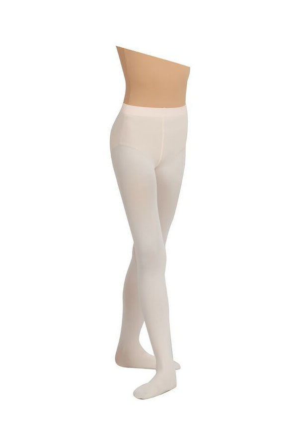 Capezio Self Knit Waistband Footed Tights 1915