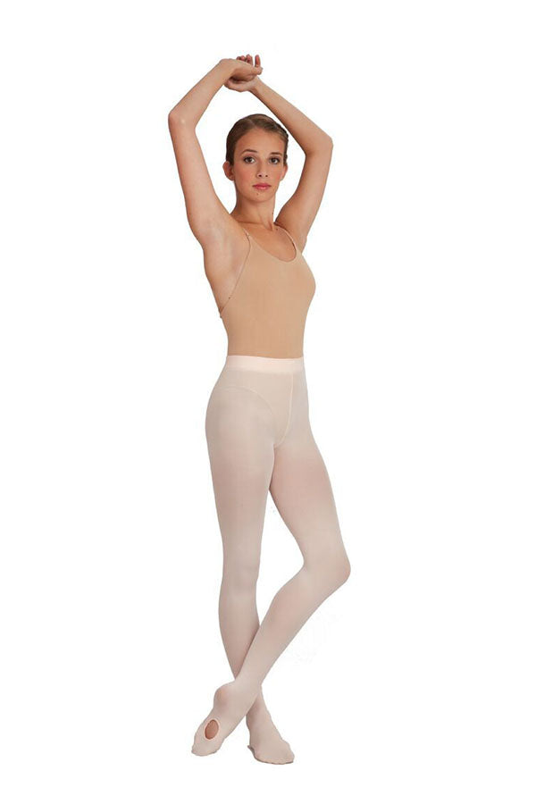 Capezio Soft Knit Waistband Transition Tights 1916