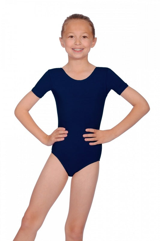 Roch Valley Cotton Short Sleeve Leotard PRIM