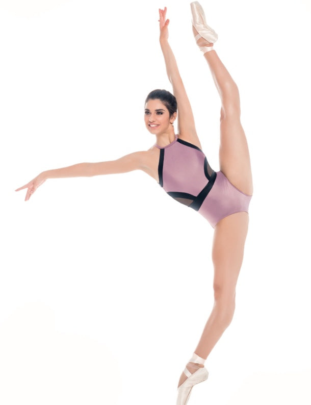 So Danca Shimmer Mesh Leotard