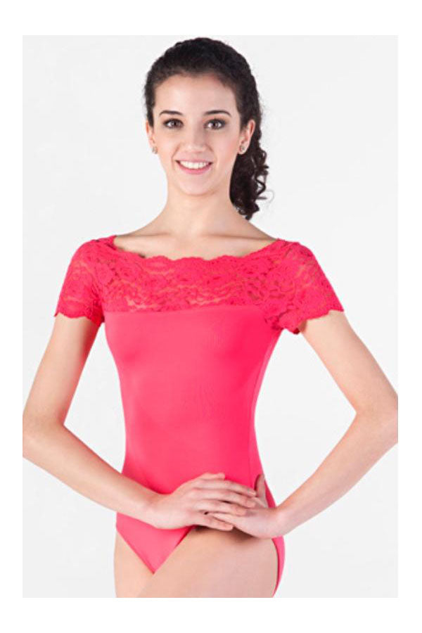 So Danca Lace Leotard E-10945LE