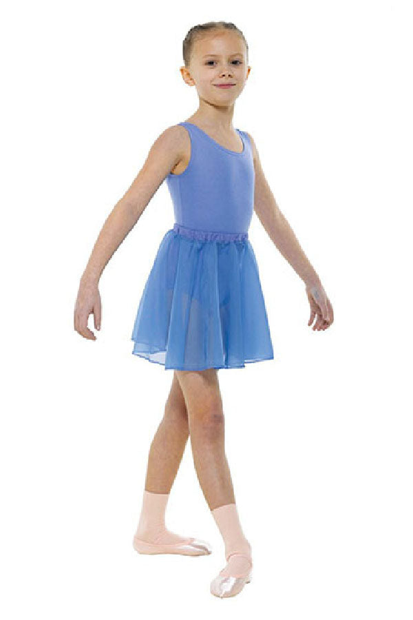 Tappers & Pointers Sleeveless Plain Front Leotard