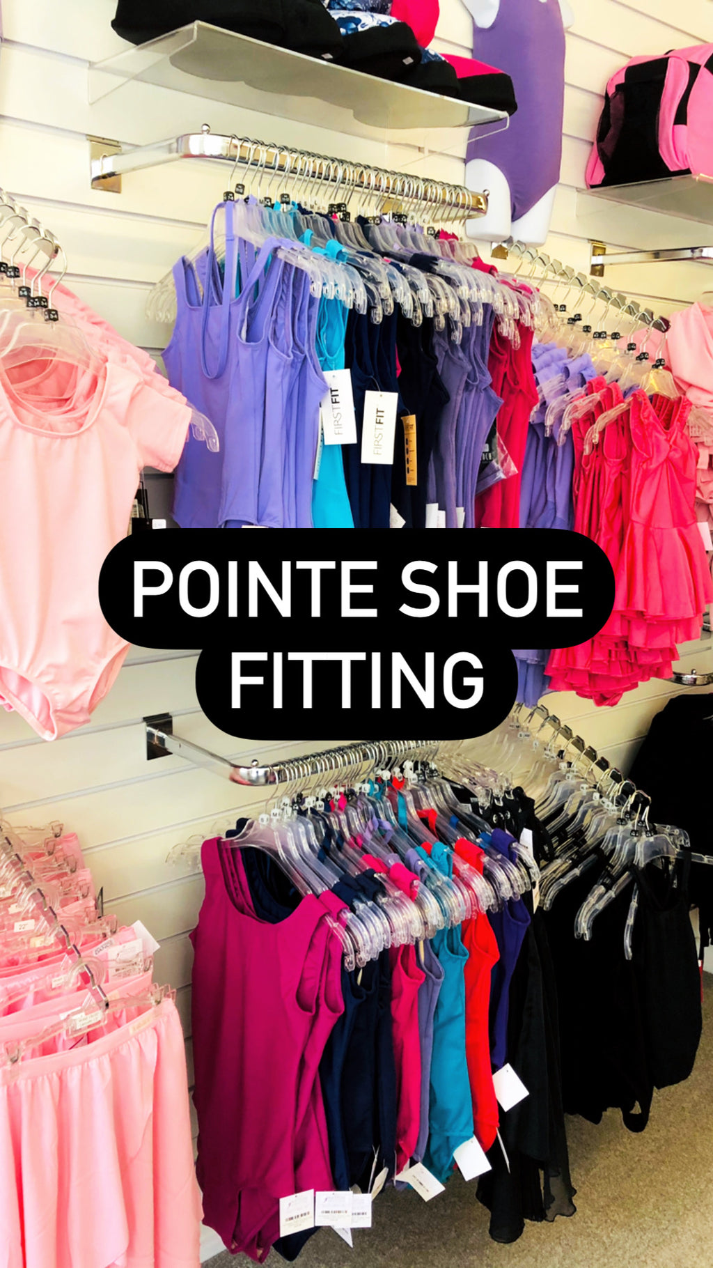 Pointe Shoe Fitting