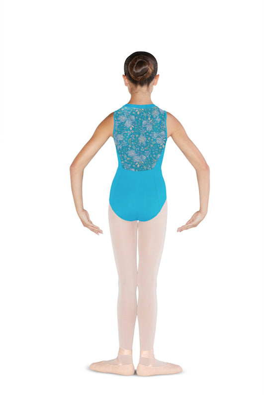 Bloch Zipper Front High Neck Leotard CL4885