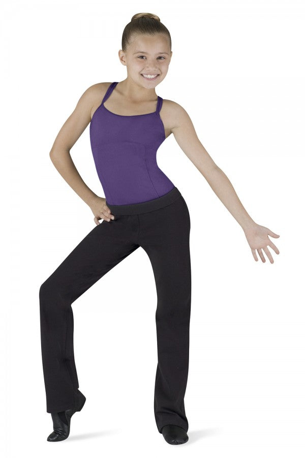 Bloch Round Waist Jazz Pants CP3648