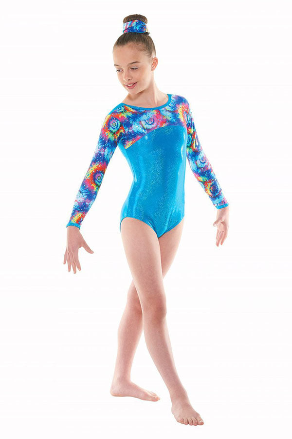 Tappers & Pointers Meteor Long Sleeve Leotard GYM/49