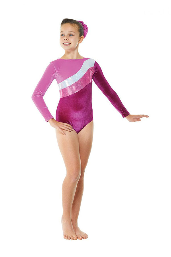 Tappers & Pointers Long Sleeve Cosmic Leotard GYM/16