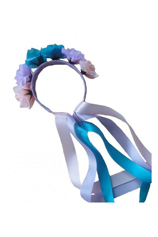 RAD Flower Long Ribbon Headband