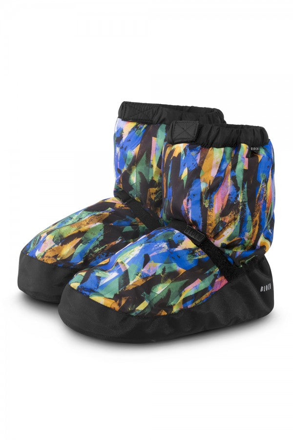 Bloch Printed Warm Up Booties IM009P