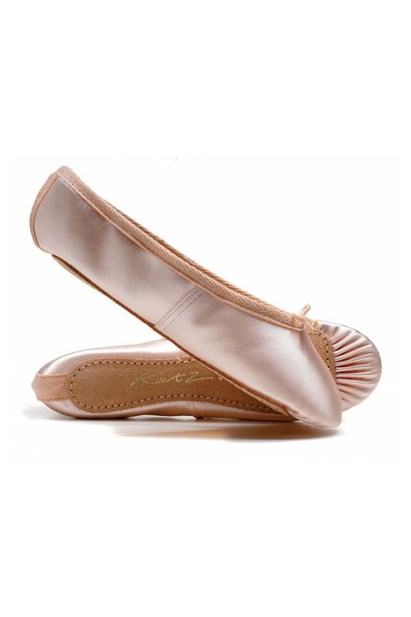 Katz Satin Full Sole Ballet Shoe