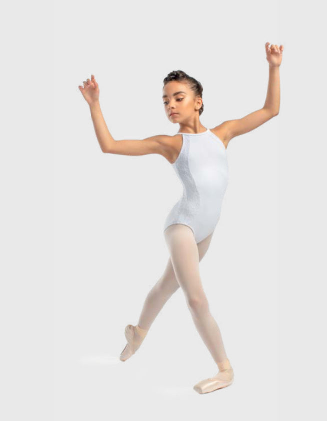 So Danca Tween High Neck Leotard L-1813