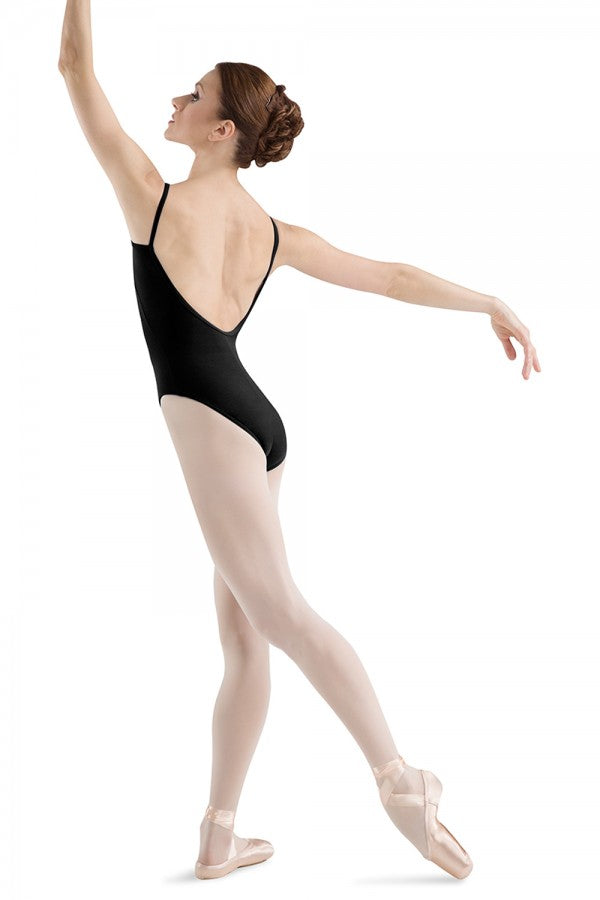 Bloch Low Back Round Front Cami Leotard L5407