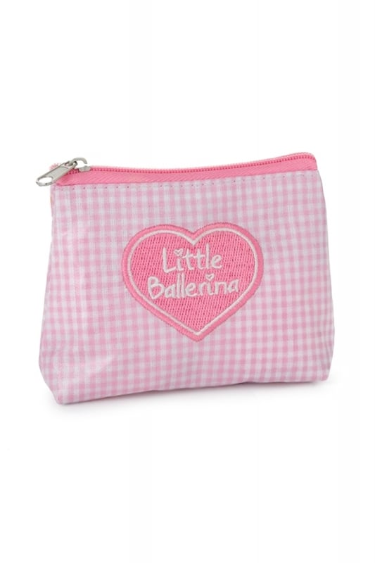 Little Ballerina Gingham Purse