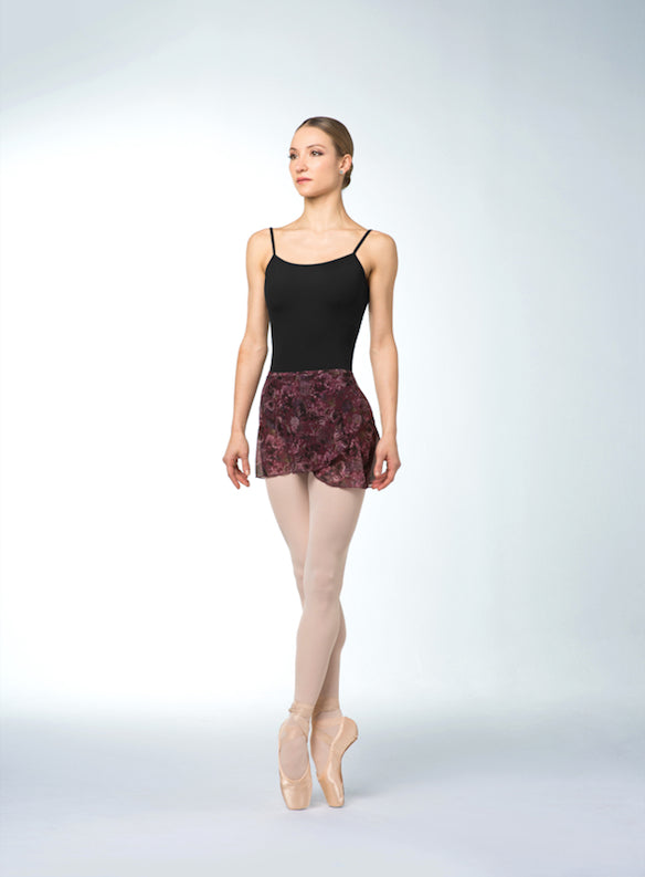 Bloch Print Mesh Wrap Skirt R9911