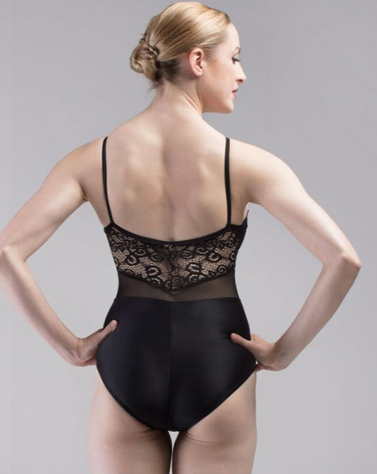 So Danca Lace High Neck Leotard RDE-1876