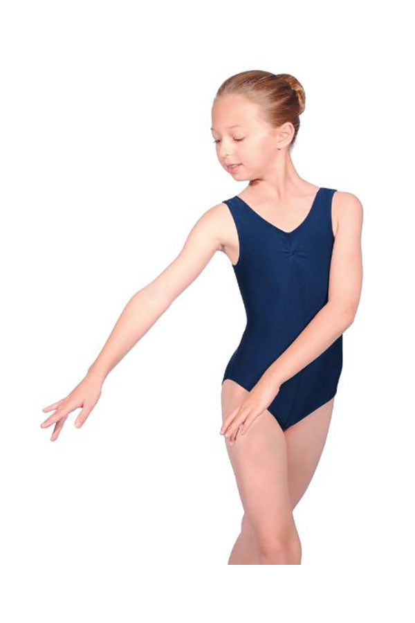 Roch Valley Sleeveless Ruched Front Leotard