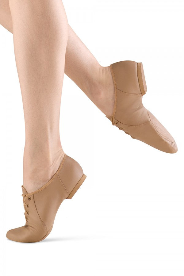 Bloch Jazzsoft Split Sole Jazz Shoe Tan S0405