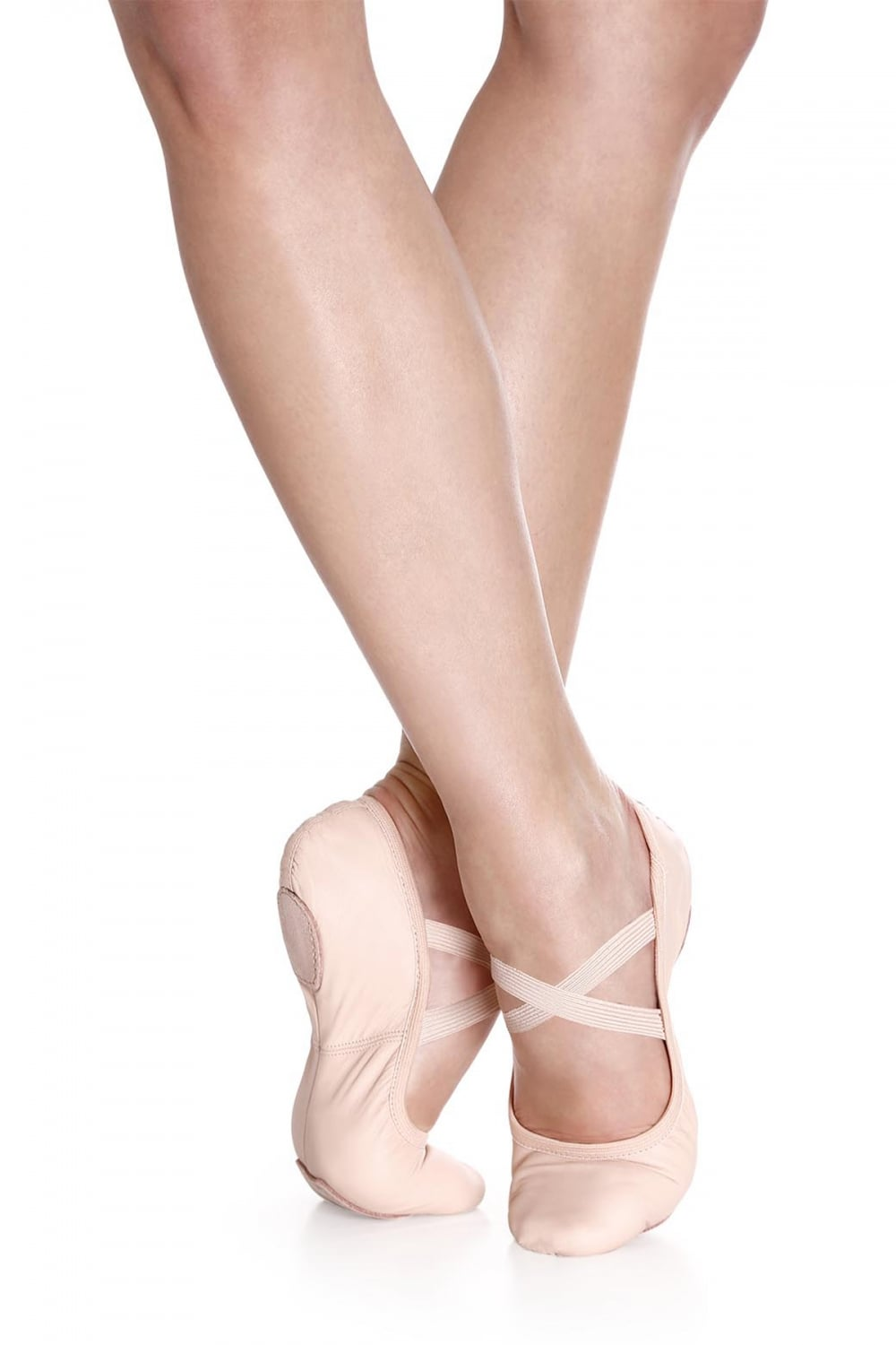 So Danca Stretch Leather Split Sole Ballet Shoe SD60S