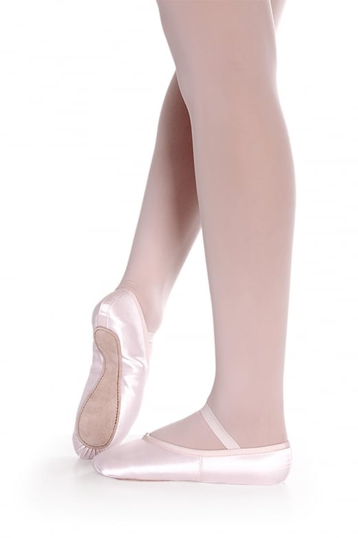 So Danca Satin Full Sole Ballet Shoe BAE16