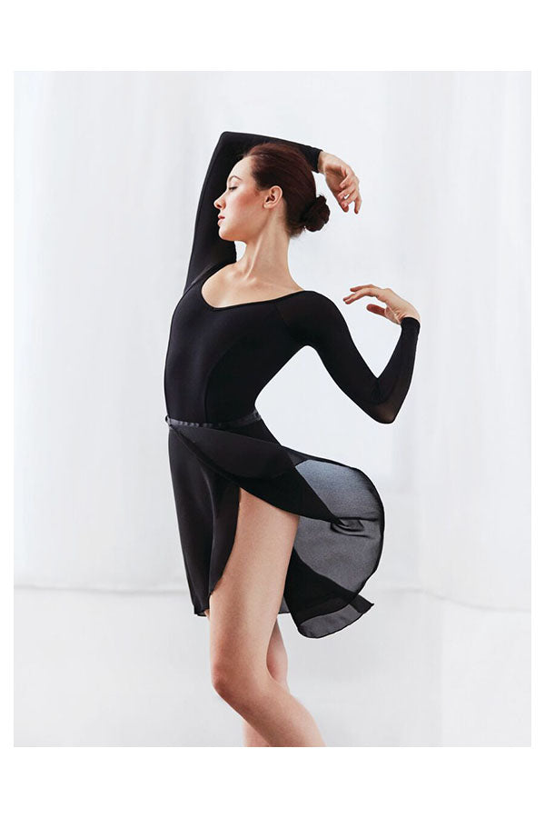 Capezio Long Sweep Wrap Skirt N276