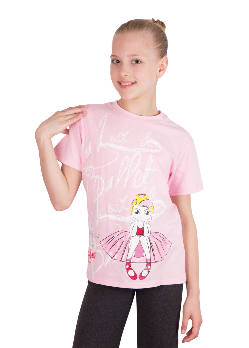 Grishko Childs Ballerina T-Shirt