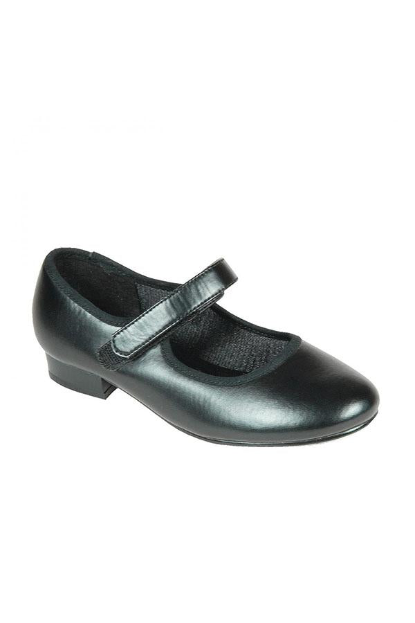 Tappers & Pointers Velcro PU Tap Shoe