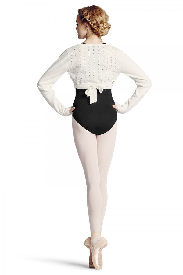 Bloch Hole Knit Wrap Z6919