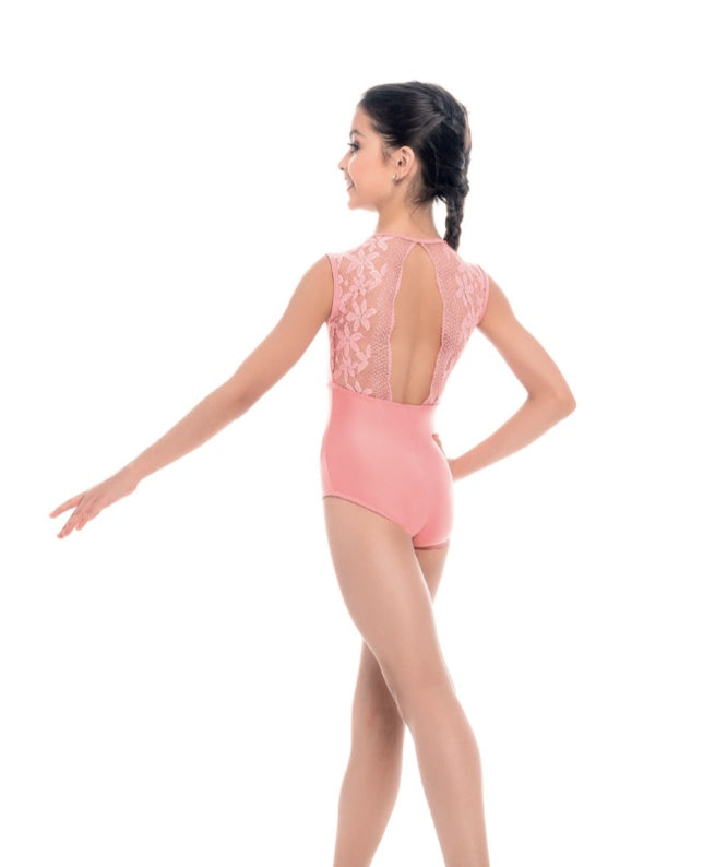 So Danca Shimmer Microfiber Lace Leotard