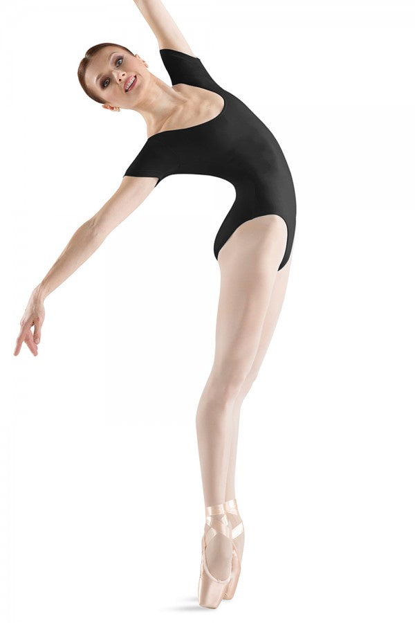 Bloch Short Sleeve Round Neck Leotard L5402