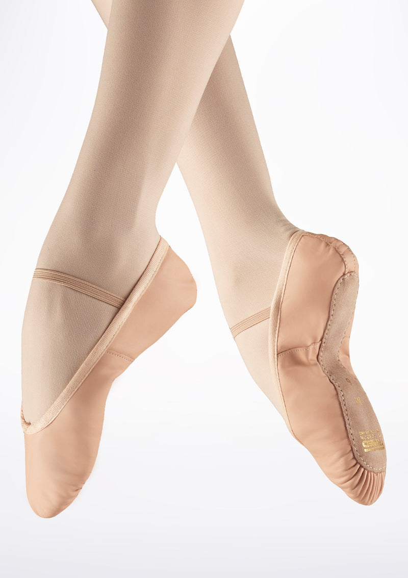 Freed Leather Full Sole Ballet Shoe Pink