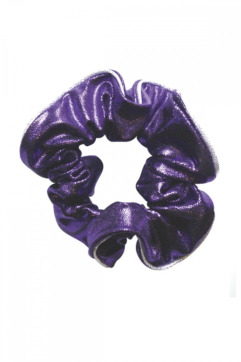 The Zone Shiny Print Scrunchie