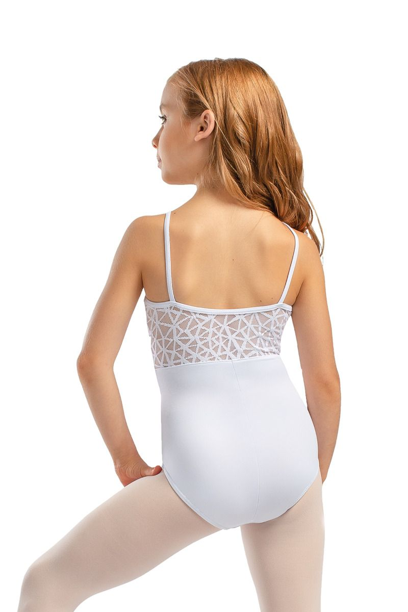 So Danca Tween Camisole Mesh Leotard L-1817