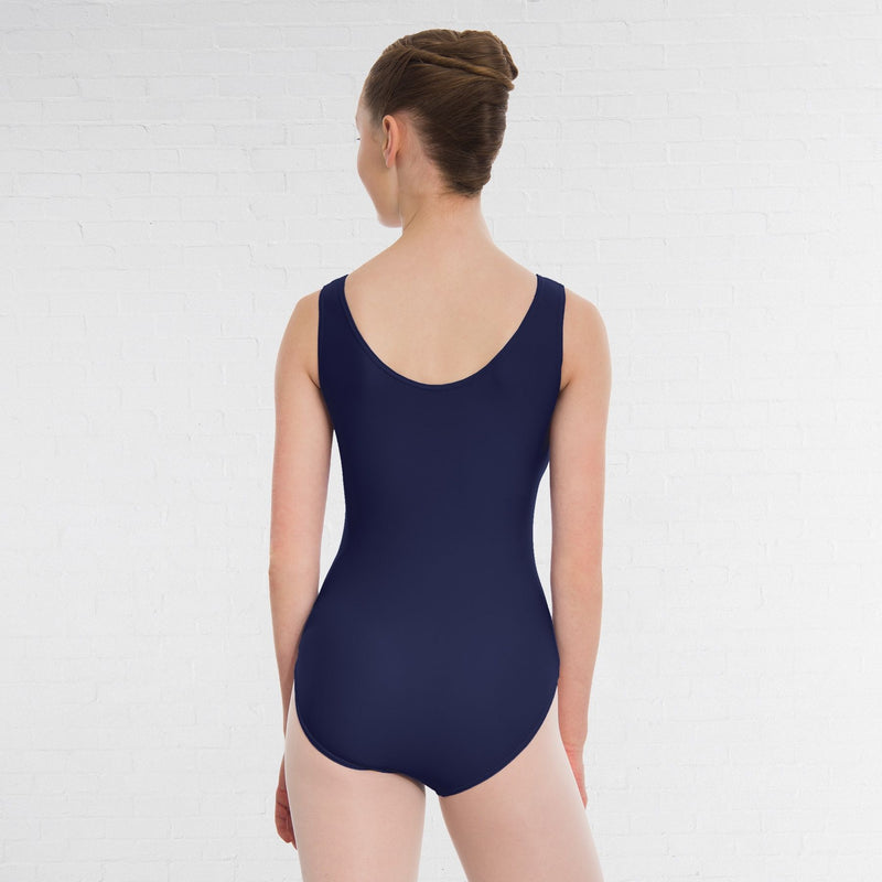1st Position Helena Ruched Lined Leotard Q32