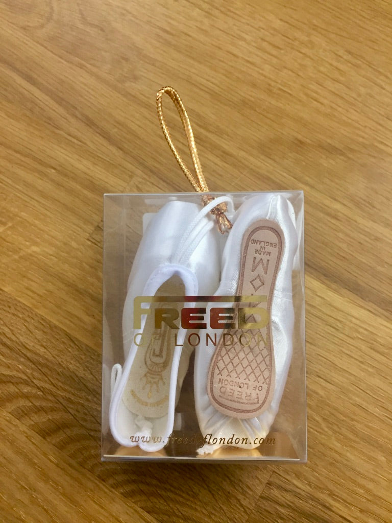 Freed Miniature Pointe Shoes