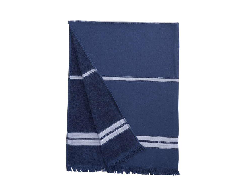 Mare Beach Towel - Indigo