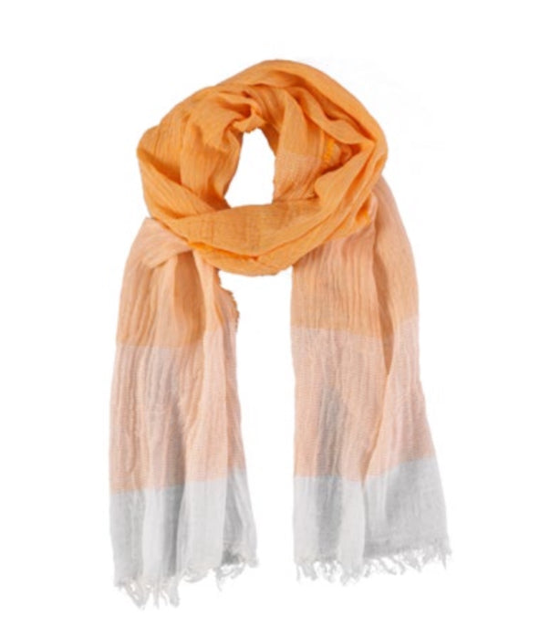 Midi Scarf - Tabacco Orange