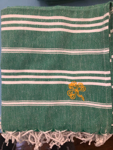 Sky Green Kitchen Towel- Shamrock