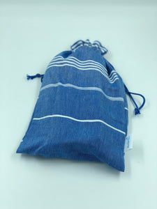 Bag del Mar - Saxe Blue - Blue Lily Cotton