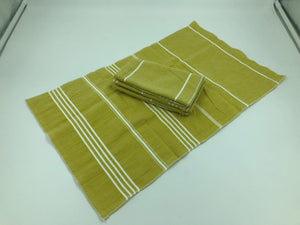 Peshtemal Napkins - Lime - Set of 4