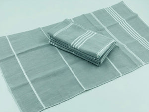 Peshtemal Napkins - Grey - Set of 4