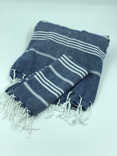 Sky Bath Towel Set - Navy