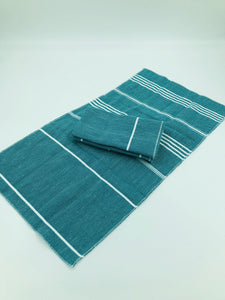 Peshtemal Napkins - Sea Green - Set of 4