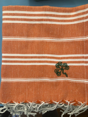 Sky Orange Kitchen Towel- Shamrock