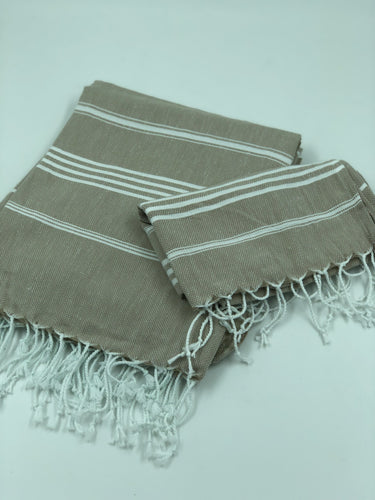 Sky Bath Towel Set - Beige