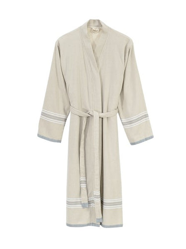 Suda Bathrobe - Steel Gray Size 1