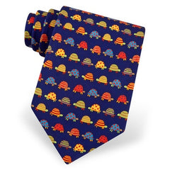 Silk Box Turtle Tie