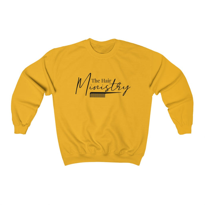 The Hair Ministry Unisex Crewneck Sweatshirt