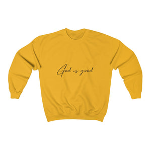 God is good - Unisex Heavy Blend™ Crewneck Sweatshirt