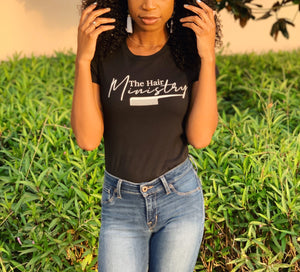 The Hair Ministry - Women's Slim Fit T-Shirt