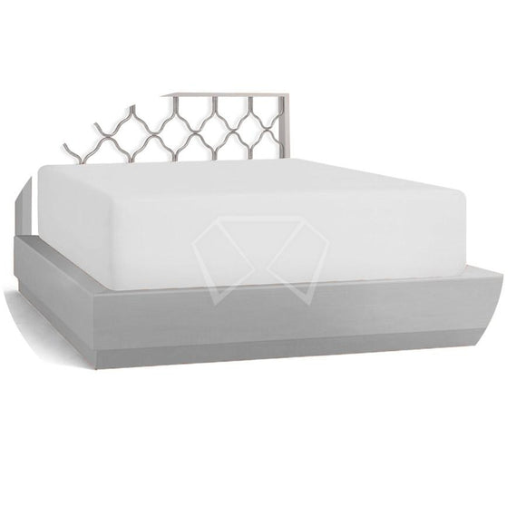 White Fitted Poly/cotton Mattress Sheets 33 Pads